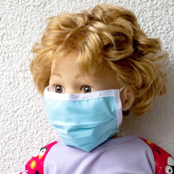 Wiederverwendbare Atem- und Hygienemaske mit Nasenbügel für Kinder