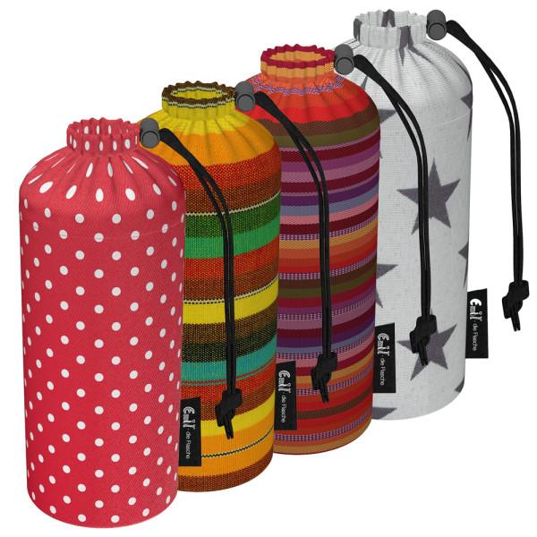 Emil die Flasche - Flaschenbeutel (einzelne Ersatzhülle) - 600ml (Bio-Baumwolle)