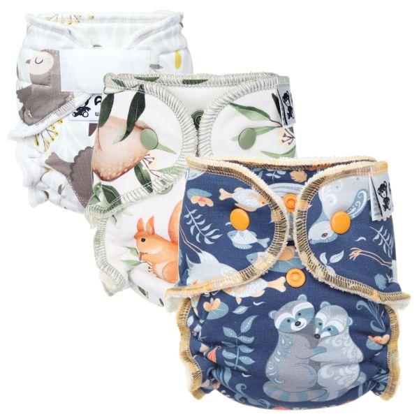 Anavy - Höschenwindeln - Newborn (2-6 kg) - Spar Paket (3 Stück)