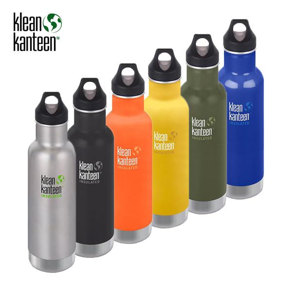 Klean Kanteen - Classic Isolierte-Flasche - Loop Cap (592ml)