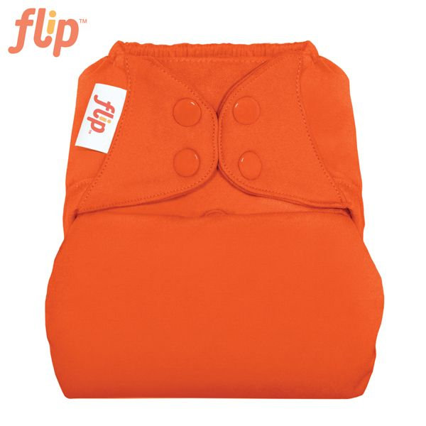 Flip Überhose One Size (Druckies) - Kiss (Orange)