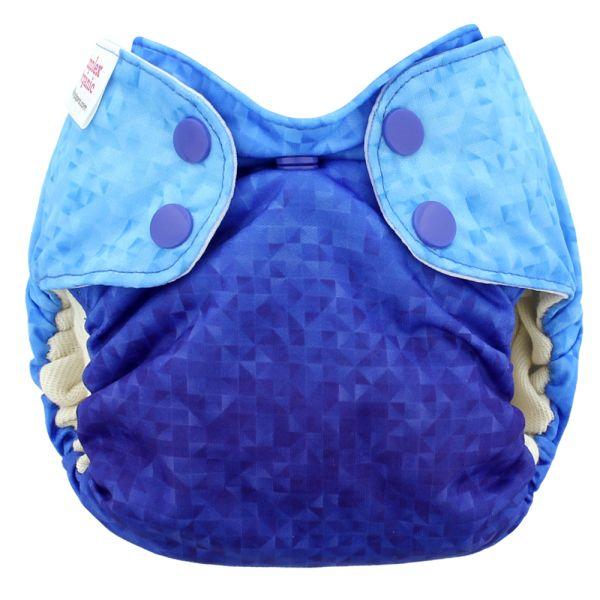 Blueberry - Simplex Newborn (AIO) - Bio-Baumwolle (GOTS) - Saphire Blue