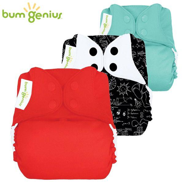 BumGenius V5.0 Pocketwindel One Size - Spar Paket -