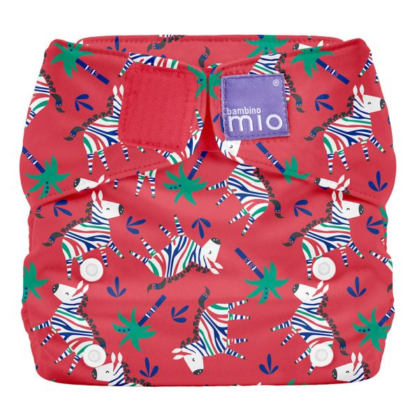 Bambino Mio - MioSolo (All-in-One) One Size Windel - Zebra Dazzle
