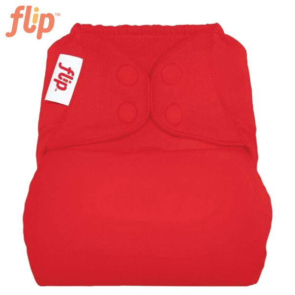 Flip Überhose One Size (Druckies) - Pepper (Rot)