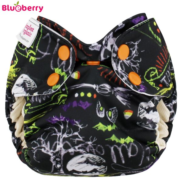 Blueberry - Simplex Newborn (AIO) - Bio-Baumwolle (GOTS) - Halloween