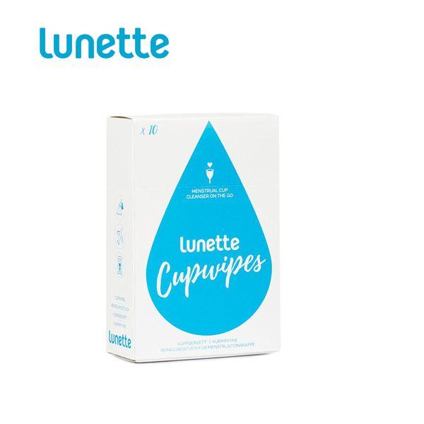 Lunette - Cupwipes Reinigungstücher (10 Stück)