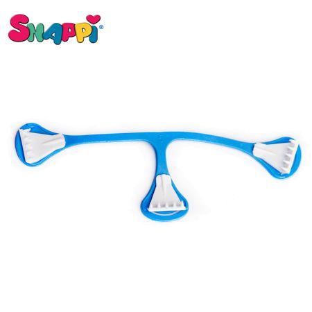 Snappi Windelklammer für Prefolds / Mullwindeln - (3 Stück) - Blau