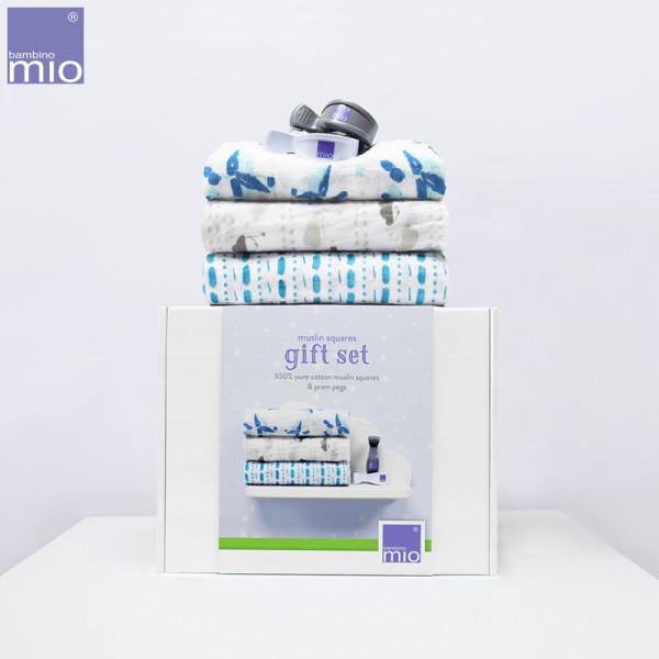 Bambino Mio - Mullwindeln Geschenk Set (Kinderwagen-Klammern)