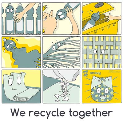 We recycle together
