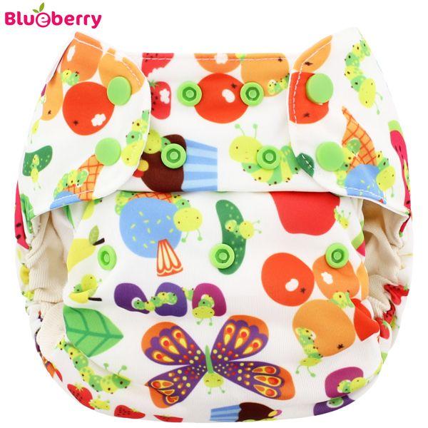 AIO - Froggies - Bio-Baumwolle Blueberry Simplex Newborn