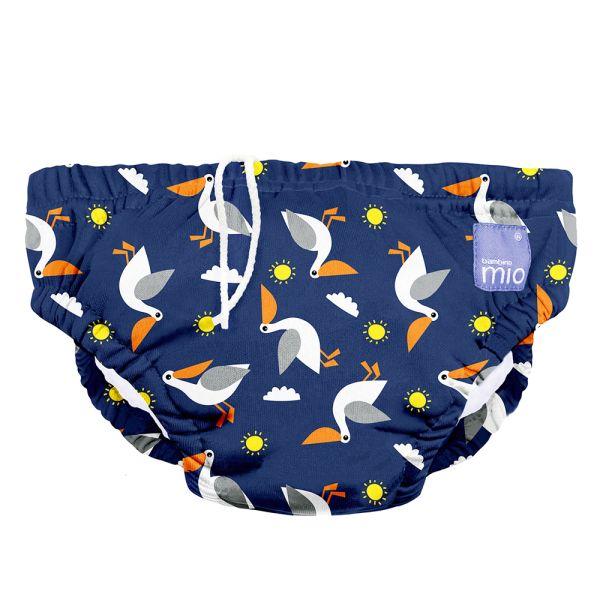 Bambino Mio - waschbare Schwimmwindel - Pelican Pier (S-XL)