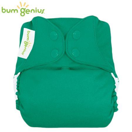 BumGenius V5.0 Pocketwindel One Size - Hummingbird (Smaragdgrün)