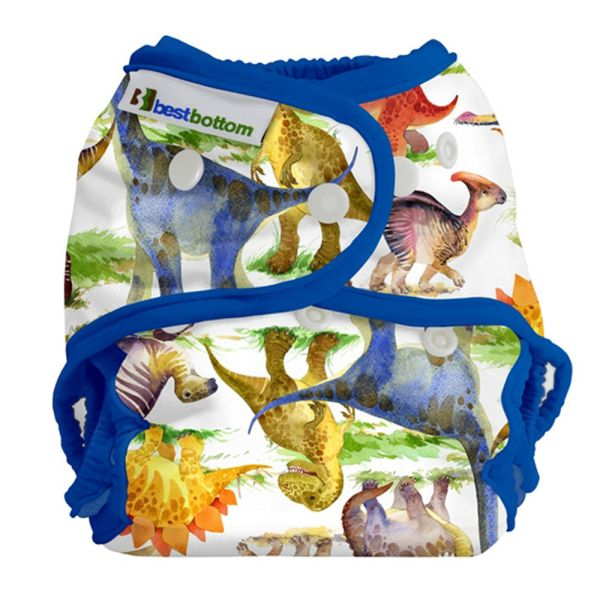 Best Bottom - Überhose (SIO) One Size (3-16 kg) - PUL - Dino Mite