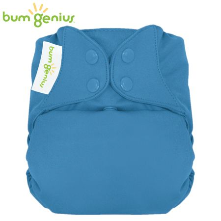 BumGenius Freetime One Size (AIO) - Moonbeam (Brilliantblau)