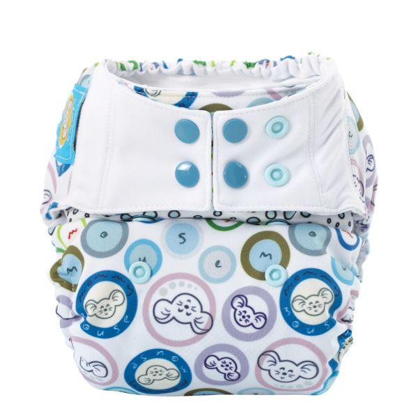 Mommy Mouse - Überhose (Newborn, One Size, XL) Bubble Gum