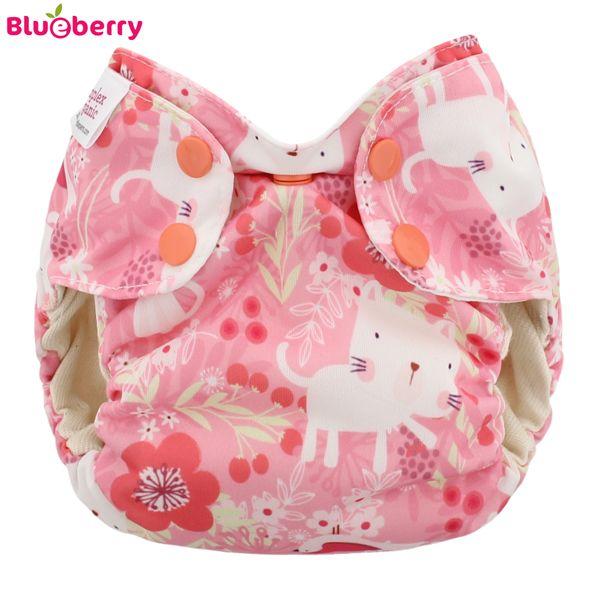 Blueberry - Simplex Newborn (AIO) - Bio-Baumwolle (GOTS) - Kittens