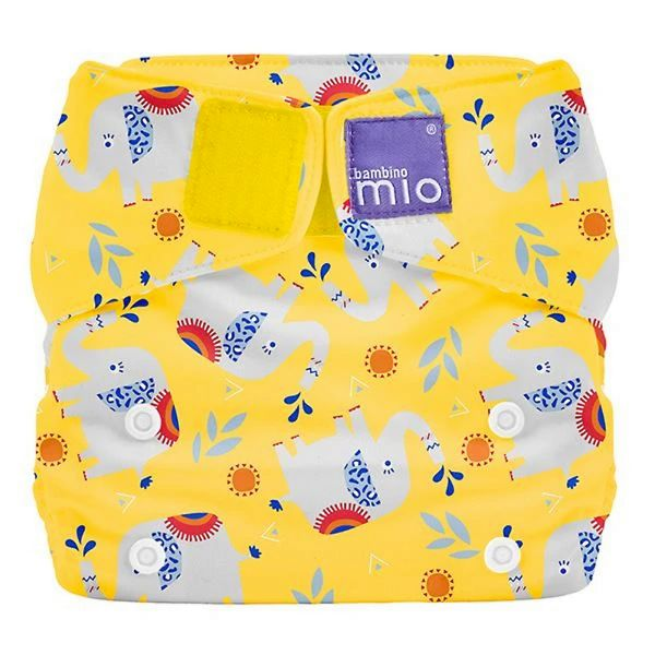 Bambino Mio - MioSolo (All-in-One) One Size Windel - Elephant Stomp