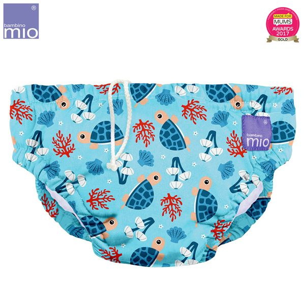 Bambino Mio - waschbare Schwimmwindel - Turtle Bay (S-XL)