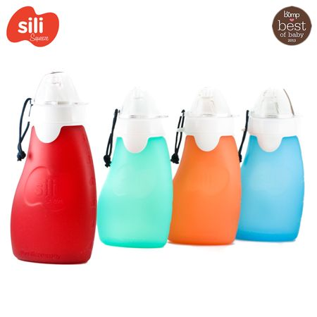The Sili Squezze with Eeeze - 120ml (offene Tülle) - ab 2 Jahre
