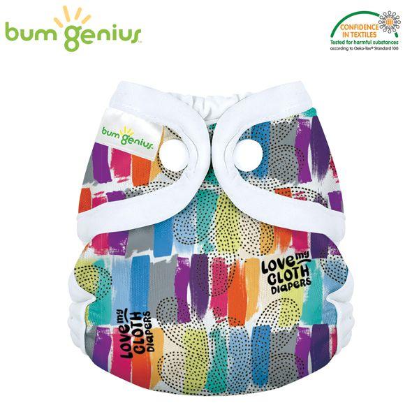 BumGenius Littles 2.0 Newborn - Love (Muster)