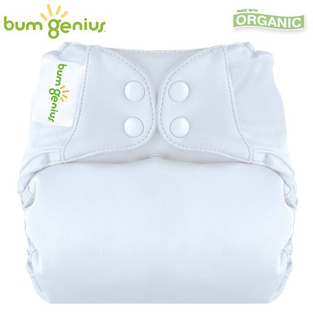 BumGenius Elemental V3.0 One Size (AIO) - Weiß