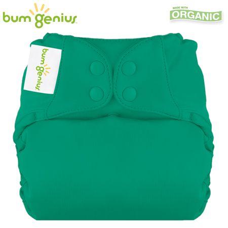 BumGenius Elemental V3.0 One Size (AIO) - Hummingbird (Smaragdgrün)