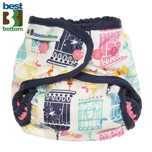Best Bottom Diapers - Baumwoll Überhosen - One Size - Song Bird (Limited) - (Druckies)