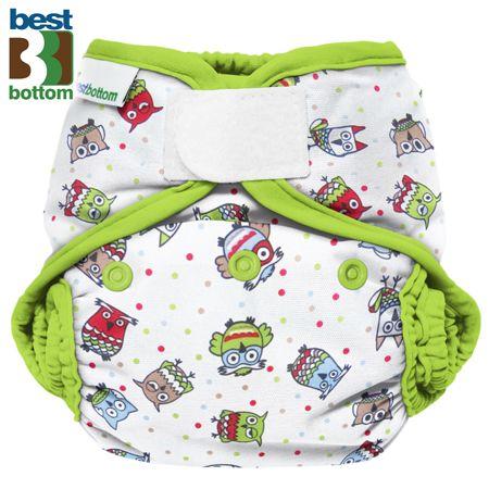 Best Bottom Diapers (PUL) Überhosen - One Size - Hoot