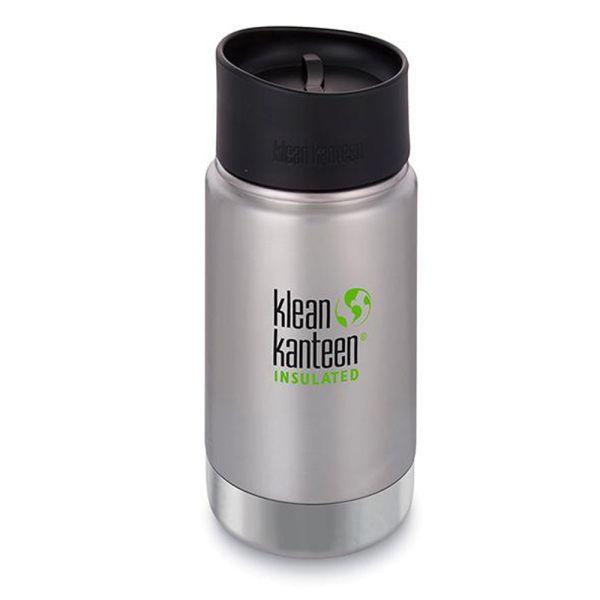Klean Kanteen - Wide (ISO-Trinkflasche) - Café Cap 2.0 - Vakuumisoliert (355 ml)