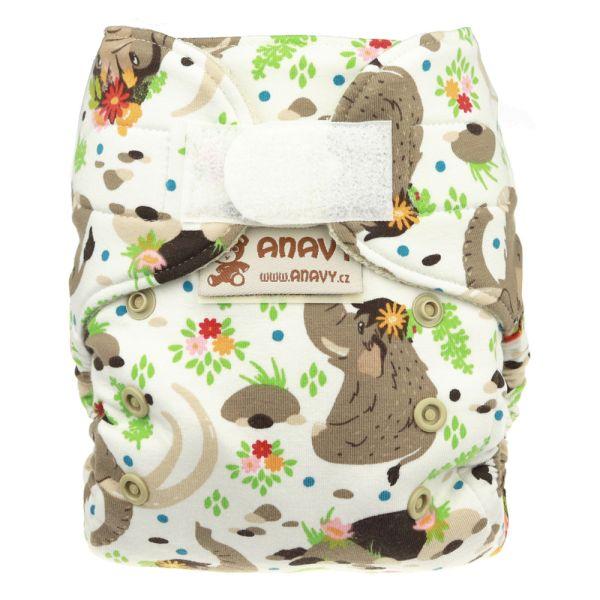 Anavy Wollüberhose Gr.1 (3-7 kg) - Mammut - Bio-Merinowolle (Kletter / Druckies)