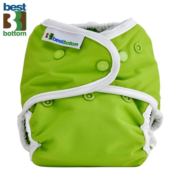 Best Bottom - Überhose (SIO) One Size (3-16 kg) - PUL - Grün