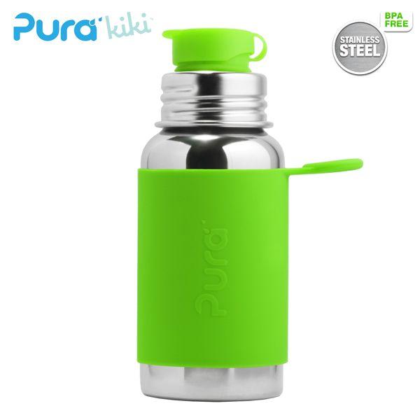 PuraSport™ Flasche - 500ml - BigMouth™ Aufsatz (inkl. Silikonüberzug)