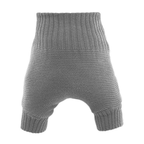 Disana Wollüberhose doppelt gestrickt - Grau