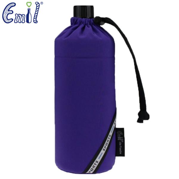 Emil die Flasche (600ml) - Komplettset - Sport Violett