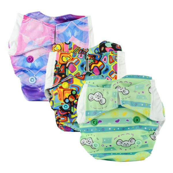 Mommy Mouse Kompettwindel AIO Newborn Spar Paket