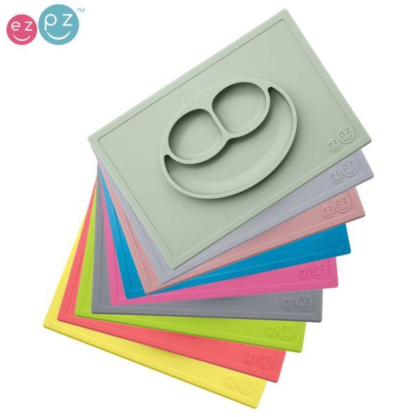 "EZPZ - ""Happy Mat"" - 100% Silikon (Rutschfester Teller)"