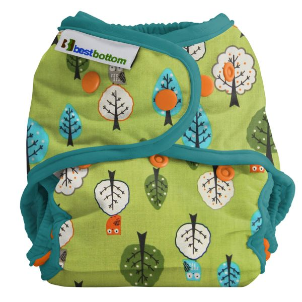 Best Bottom Diapers - Baumwoll Überhosen - One Size - Family Tree - (Druckies)