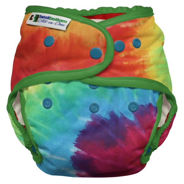 Best Bottom - Heavy Wetter AIO (One Size) - Regenbogen