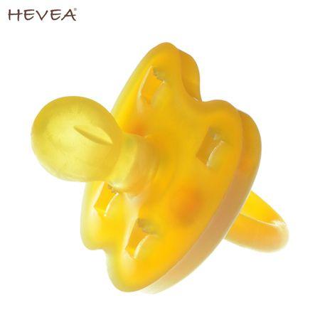 Hevea Schnuller aus Naturkautschuk - Form: Rund