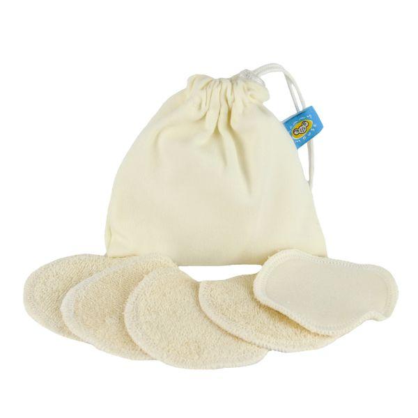 Mommy Mouse Waschbare Abschminkpads (Bio-Baumwolle) 5 Stück
