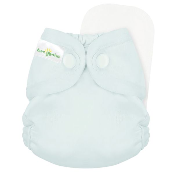 BumGenius - Littles 2.0 Newborn (2-6 kg) - Sweet (Pastel Türkis)