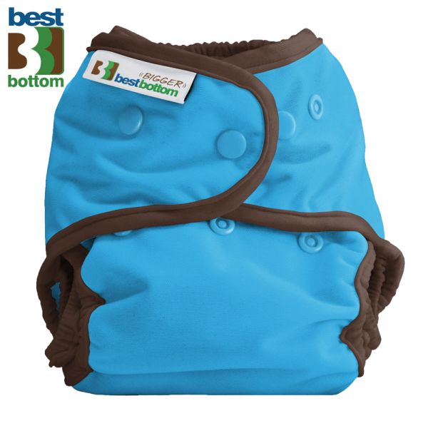 Best Bottom - Überhose (SIO) BIGGER (XL 5-20+ kg) - PUL - Blau