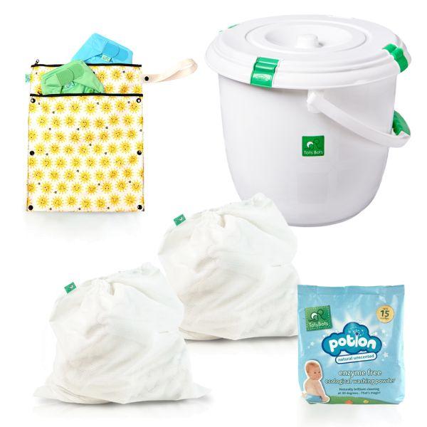 TotsBots - Wickelzubehör & Waschen - Komplettpaket