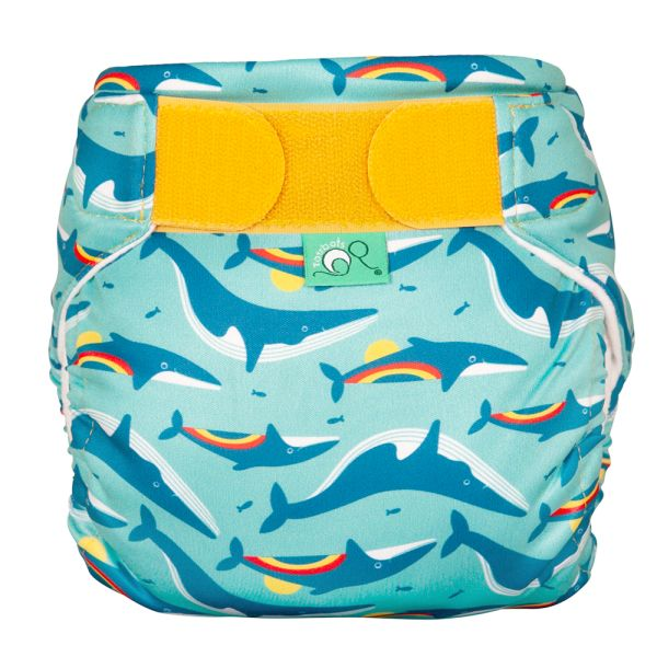 TotsBots - SwimTots - Schwimmwindel (Badewindel) - Rainbow Whale