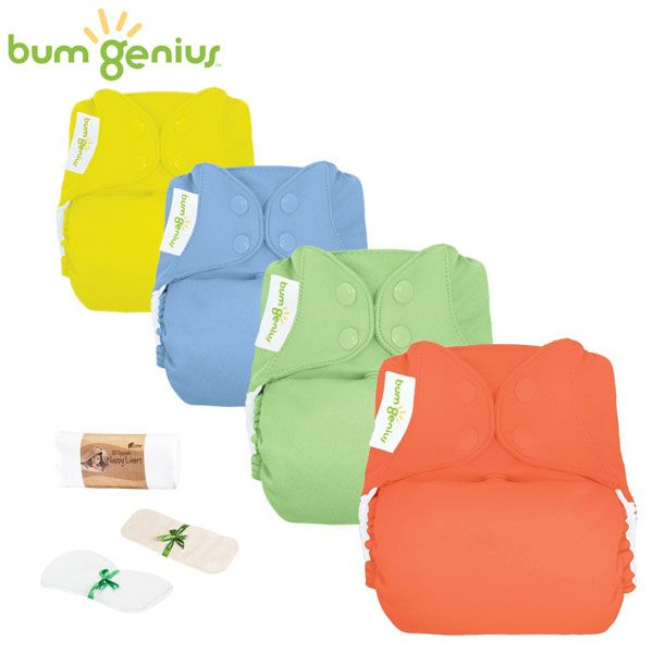 BumGenius V5.0 Pocketwindel One Size - Einsteiger Paket -