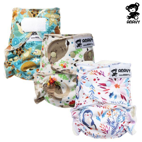 Anavy - Höschenwindeln - Spar Paket - One Size (3,5-15 kg)