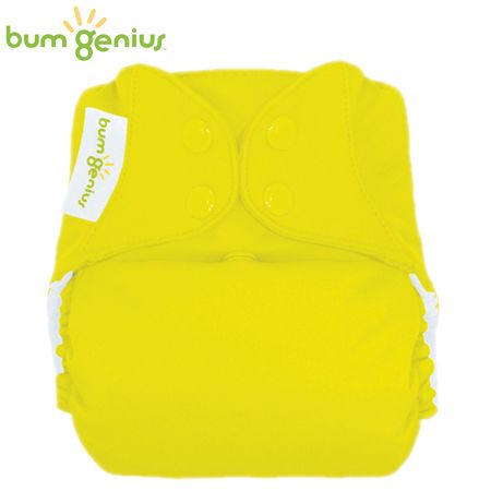BumGenius Freetime One Size (AIO) - Jolly (Gelb)