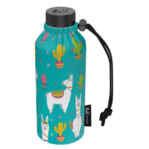 Emil die Flasche (400ml) - Komplettset (Polyester-Überzug) Weithals - Alpaka