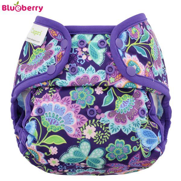 Blueberry Überhose Coveralls - Butterfly Garden (Druckies)